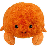 Mini Squishable Crab: An Adorable Fuzzy Plush to Snurfle and Squeeze!