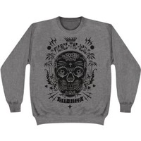 Pierce The Veil Sugar Skull Sweatshirt