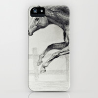 Horse iPhone & iPod Case by Anna Shell