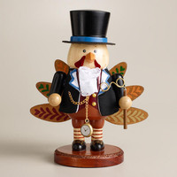 Wooden Turkey Nutcracker | World Market