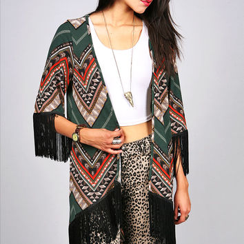 Tribal Blitz Cardigan