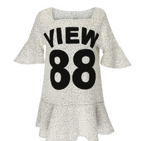 Bell Sleeve Retro Dress by Storets