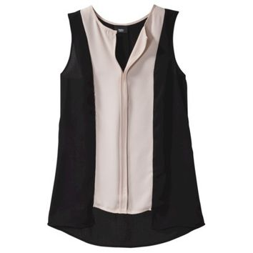 Mossimo® Women's Sleeveless Front Placket Top - Assorted Colors