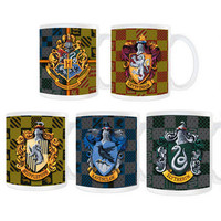 Harry Potter Crest and House Colors Mug Set |