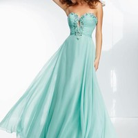 Mori Lee Dress 95103 at Peaches Boutique