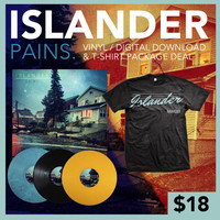 Islander: Pains Vinyl And T-Shirt Package