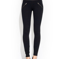 Ankle-Length-Zippy-Pants BLACK - GoJane.com