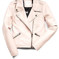 Moto Cutie Faux Leather Jacket (Kids)