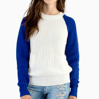 Racing Regina Knit Sweater $47
