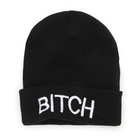 Nollie Bitch Beanie at PacSun.com