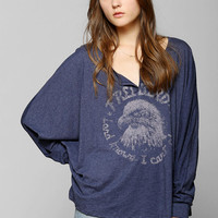 Lyric Culture Freebird Dolman Henley Tee - Urban Outfitters