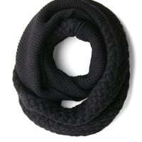 ModCloth Chill Out on the Town Scarf in Black