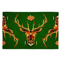 DENY Designs Home Accessories | Chobopop Geometric Deer Woven Rug