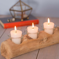 Driftwood You Join Me Candle Holder | Mod Retro Vintage Decor Accessories | ModCloth.com
