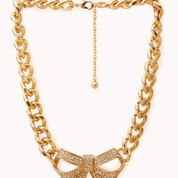 Fancy Curb Chain Necklace