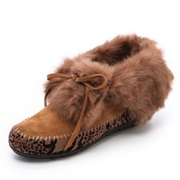 Maddox Fur Lined Booties