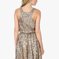 Mary-Ann Full Skirt Sequin Tank Dress | Sexy Clothes Womens Sexy Dresses Sexy Clubwear Sexy Swimwear | Flirt Catalog