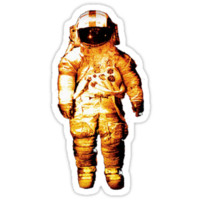 cosmonaut (SHIRT/STICKER)