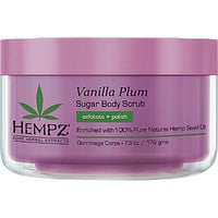 Hempz Vanilla Plum Herbal Sugar Body Scrub Ulta.com - Cosmetics, Fragrance, Salon and Beauty Gifts