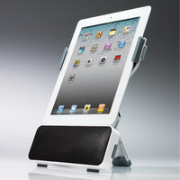 Portable iPad Speaker Dock at Brookstone. Buy Now!