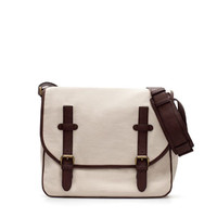 COMBINATION CANVAS MESSENGER BAG - Bags - MAN | ZARA United States