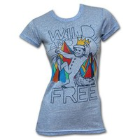 Junk Food Where The Wild Things Are Free Blue Juniors Graphic T-Shirt