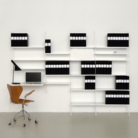 The Future Perfect -  String Shelving System - Storage