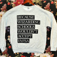'Wizarding School' Sweater | Wicked Clothes