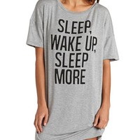 Sleep More Sleep Shirt: Charlotte Russe