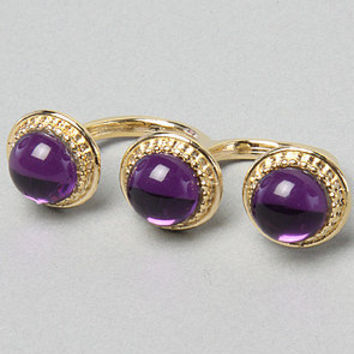 Karmaloop.com - Global Concrete Culture - The Orb Ring in Amethyst by Accentuality Jewelry