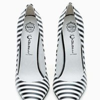 Jeffrey Campbell Darling Pump - Stripe