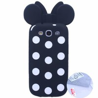 Arbalest Soft Silicone Cute Case, Gifts Arbalest Screen Protector,Screen Appliactor and Cleaning Cloth Package