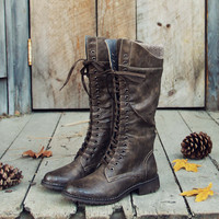 The Chehalis Boots in Ash