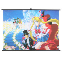 Sailor Moon Palace Wall Scroll | Hot Topic