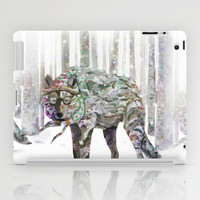 Winter Wonder Dog iPad Case by Ben Geiger