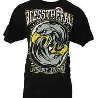 IMPB Men's Bless the Fall Blessthefall - Ying Yang Eagle Head Image T-Shirt