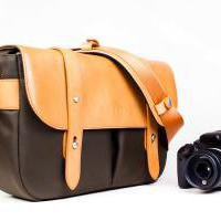 Our Classic Leather Camera Satchel