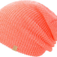 Empyre Girls Piper Neon Coral Speckle Beanie