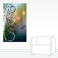 Christmas Swirls Wall Decal
