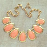 Pree Brulee - Peachy Kisses Necklace
