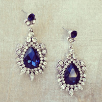 Pree Brulee - Mughal Empress Sapphire Earrings