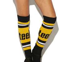 Steelers Knee Slipper Sock | Wet Seal