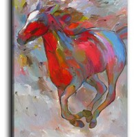Canvas Wall Art from DiaNoche Designs Home Decor Ideas - Smooth Runner I