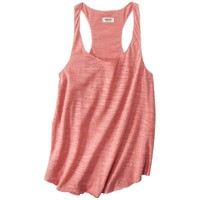 Mossimo Supply Co. Juniors Merrow Edge Racerback Tank - Assorted Colors