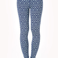 Fair Isle Workout Leggings