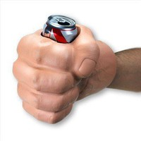 """The Beast"" Giant Fist Cool Can Koozie"