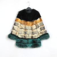 Indie Designs Fendi Inspired Fox Fur Coat