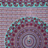 Magical Thinking Turq Medallion Tapestry - Urban Outfitters