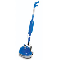 The Hard Floor Scrubber With Spray Applicator - Hammacher Schlemmer