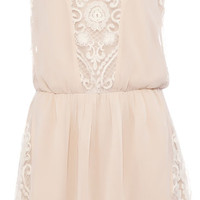 DRESS WITH SIDE LACE TRIM - DRESSES - WOMAN -  PULL&BEAR United Kingdom